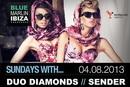 Как украинские красотки Duo Diamonds готовятся покорить Ибицу (видео)