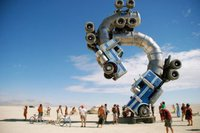 Смотрите видео с Burning Man