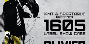1605 Label Show Case