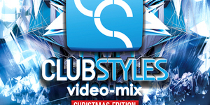 Club-styles video mix project. Christmas edition.