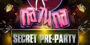 Secret pre-party
